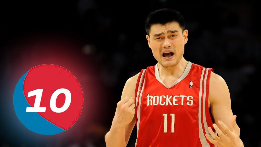 Yao Ming Top 10 Plays Of Career - YouTube