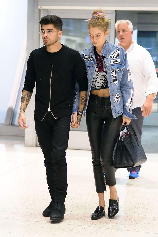 Zayn Malik And Gigi Hadid Jet Out Of New York As Singer Looks