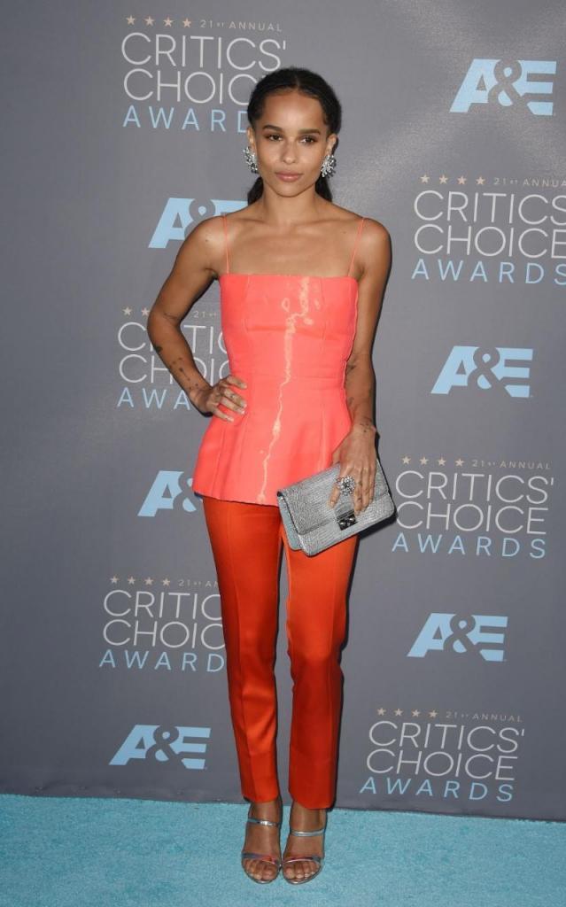 Zoe Kravitz Is Having A Fashion Moment