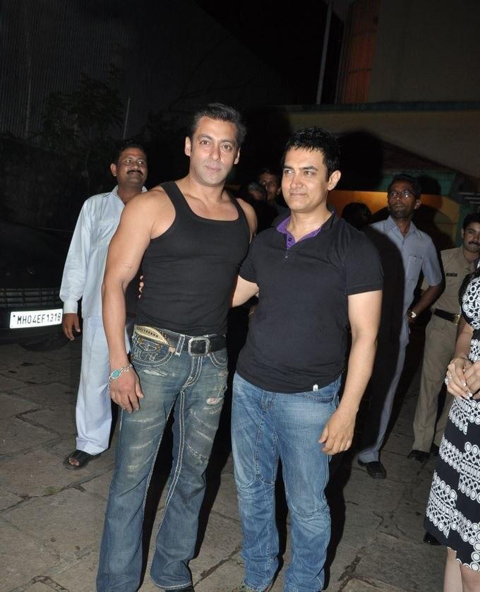 Aamir Khan feels Salman Khan has become more an actor in