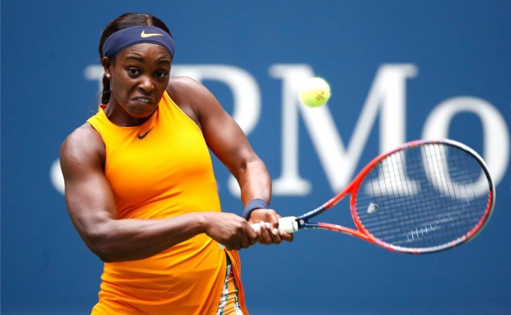 US Open: Defending champion Sloane Stephens fends off