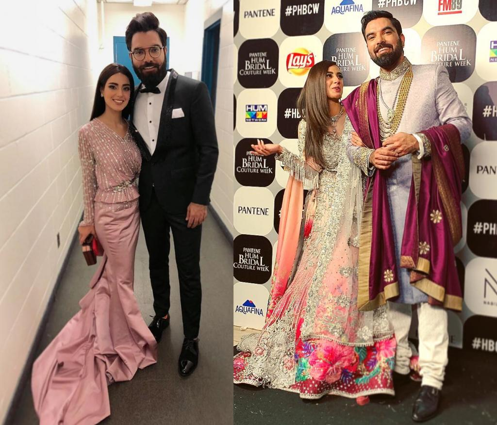 Iqra Aziz and Yasir Hussain practice dance moves for their