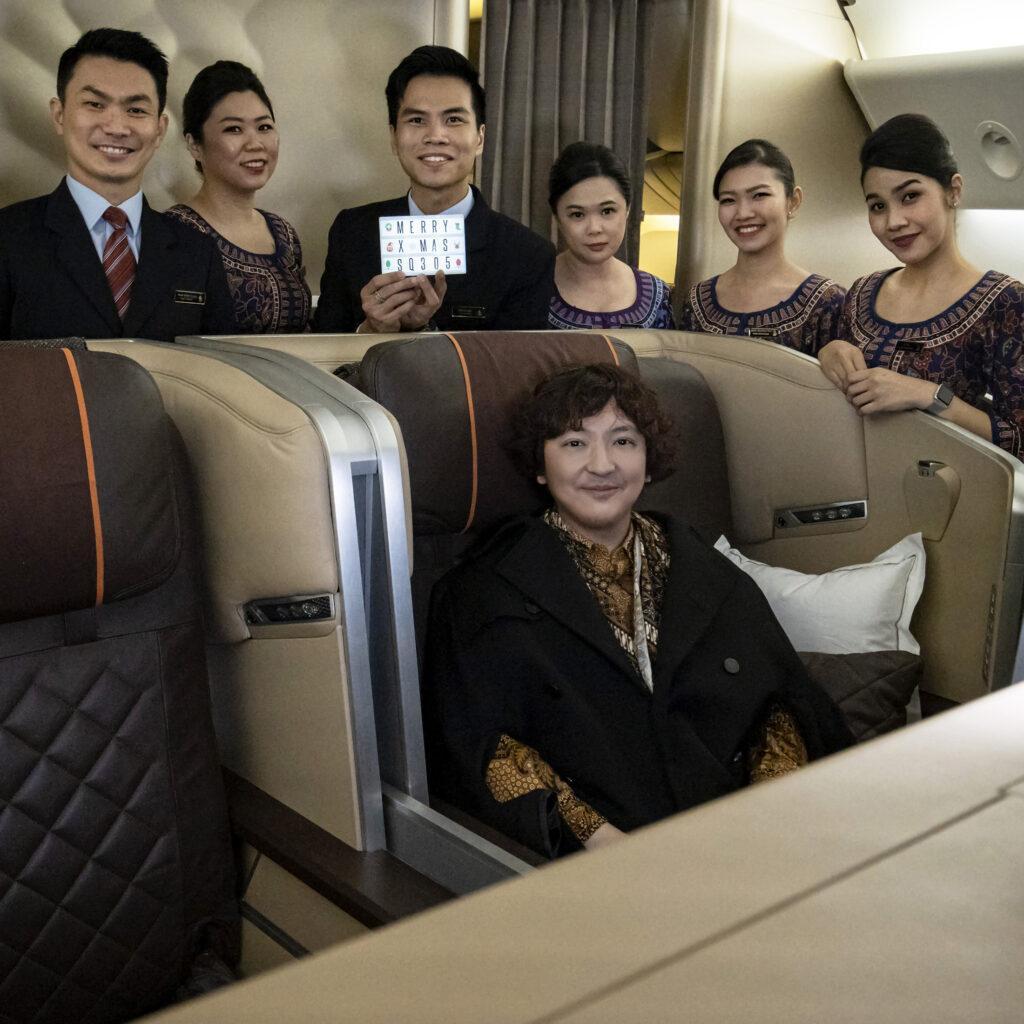 Singapore Airlines  Stefano Malachi  Lifestyle Influencer