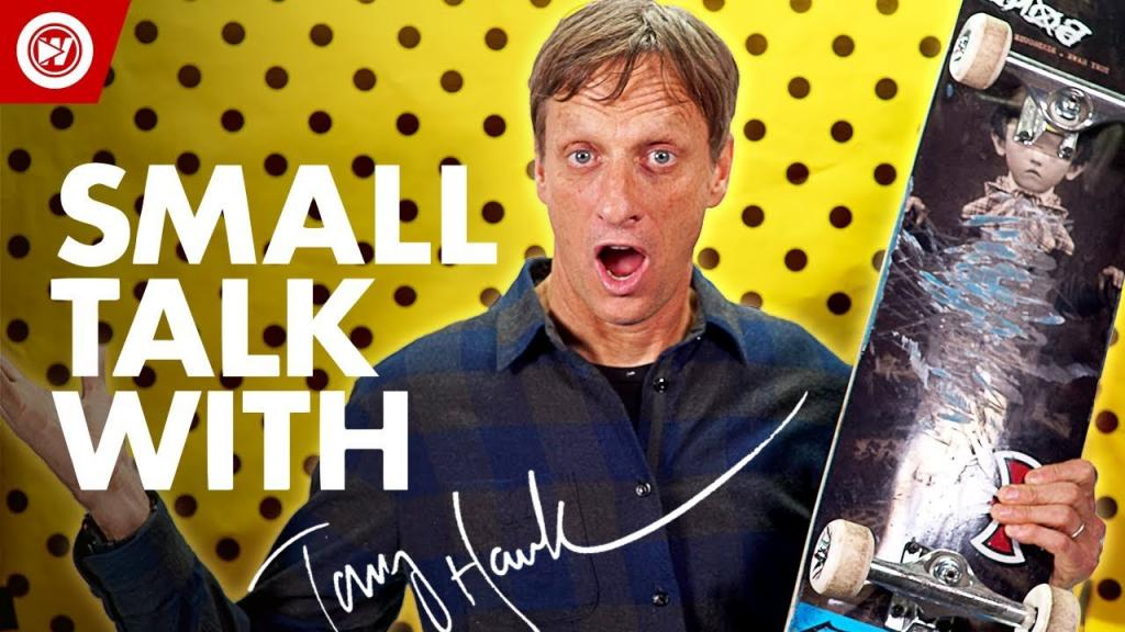 Tony Hawk Reveals NEW Pro Skater Game - YouTube