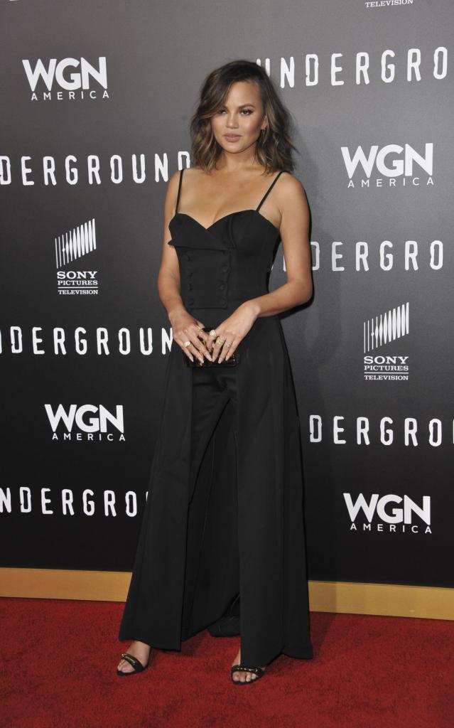 CHRISSY TEIGEN at Underground Season Two Premiere in Los
