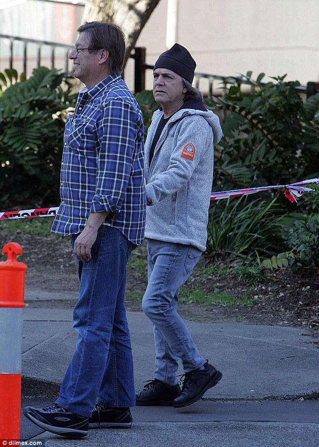 AC/DC's Malcolm Young Looks Frail In Sydney After Confirming