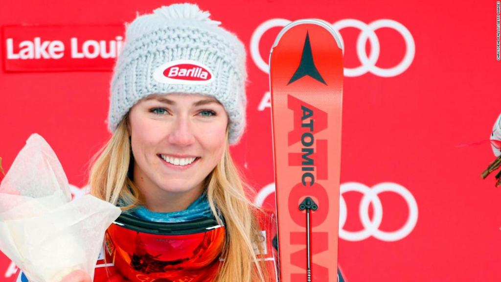 Mikaela Shiffrin Scores First Downhill Win - CNN