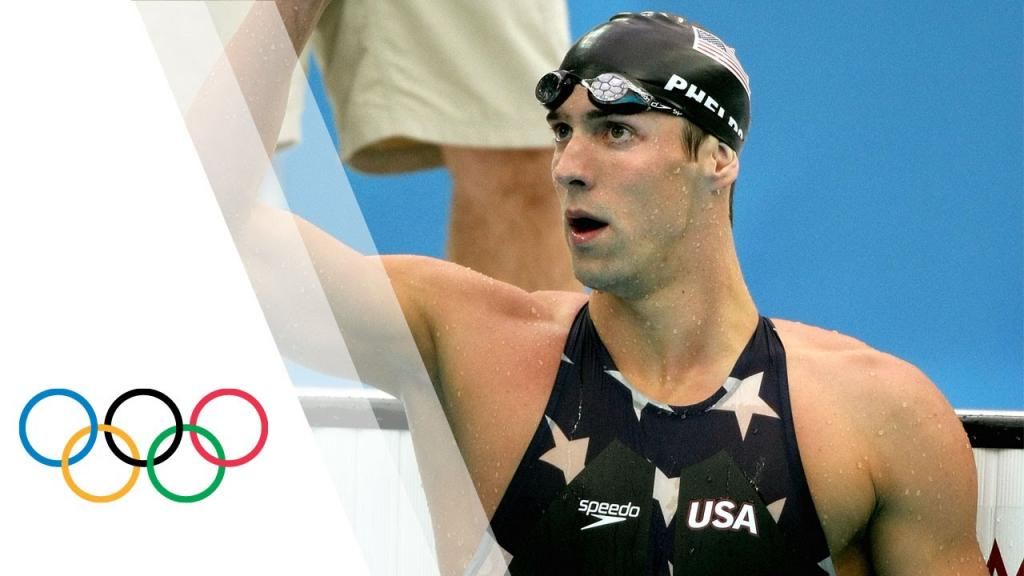 Michael Phelps Breaks 200m Freestyle World Record Beijing 2008
