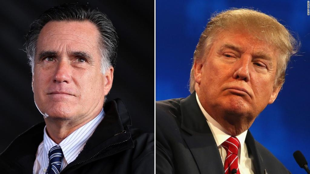 Mitt Romney: Donald Trump Is A 'phony, A Fraud' - CNNPolitics