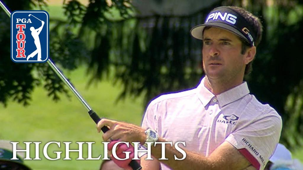 Bubba Watson Extended Highlights Round 2 The Greenbrier - YouTube