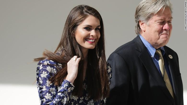 Hope Hicks: A Witness To Trump's Rise - CNNPolitics