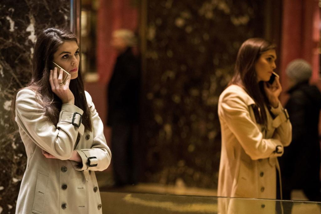 Did White House Communications Director Hope Hicks Plan To Obstruct