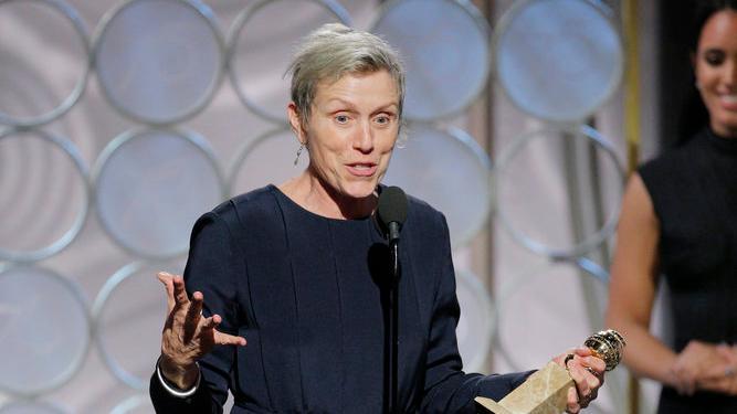 Frances McDormand: Golden Globes Bleeps In Odd Places Variety