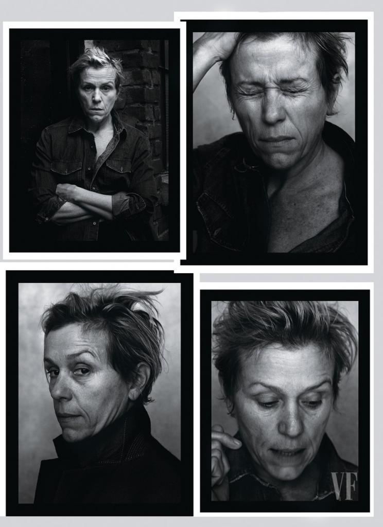 Frances McDormand, The Annie Leibovitz Portraits Vanity Fair