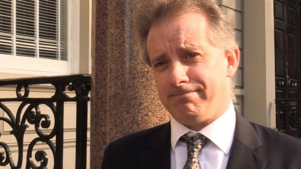 Former British Spy Christopher Steele Named In First Criminal