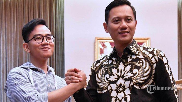 Ketika Agus Yudhoyono Minta Restu Jokowi, Gibran Pun Ikut 'Bergabung