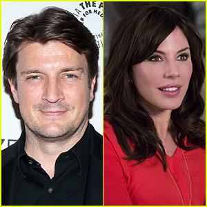 Nathan Fillion Is Reportedly Dating Actress Krista Allen! Krista