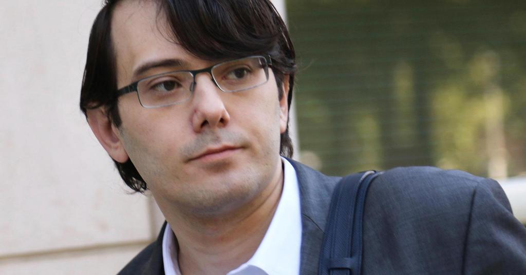 Martin Shkreli Seeks Sentence Of Just 12 To 18 Months In Prison
