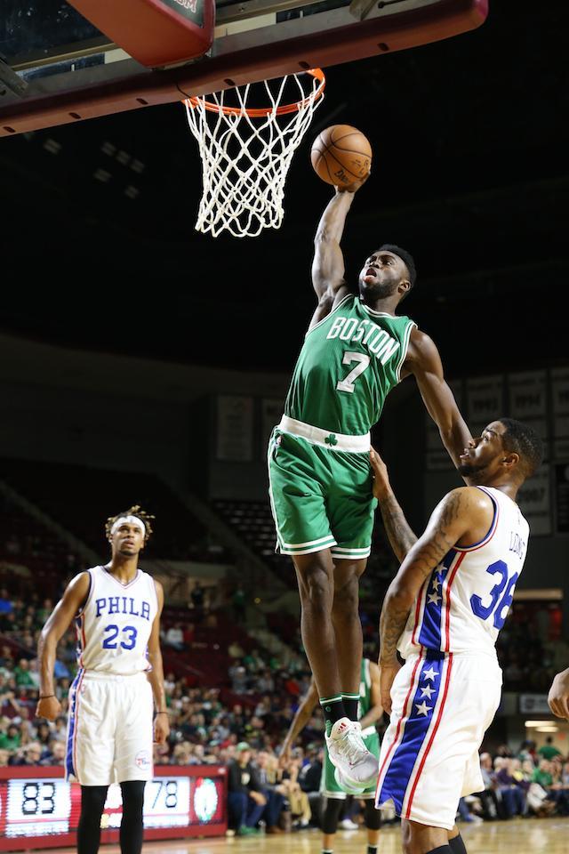 Exclusive: Celtics Rookie Jaylen Brown Makes His Own Beats