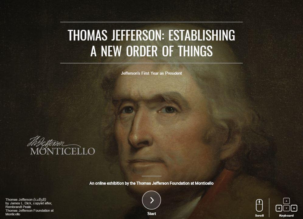 Thomas Jefferson, A Brief Biography Thomas Jefferson's Monticello