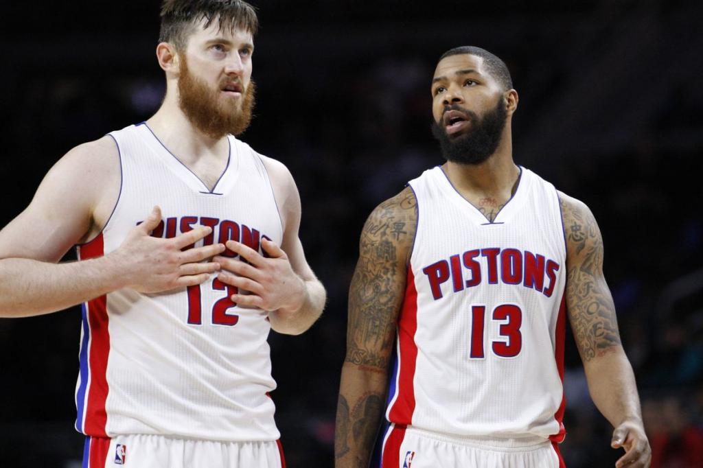 Boston Celtics Officially Introduce Marcus Morris And Aron Baynes