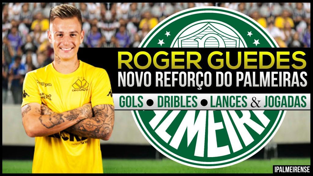 Roger Guedes Atacante (Ex-Crici Ma) Gols, Dribles & Jogadas