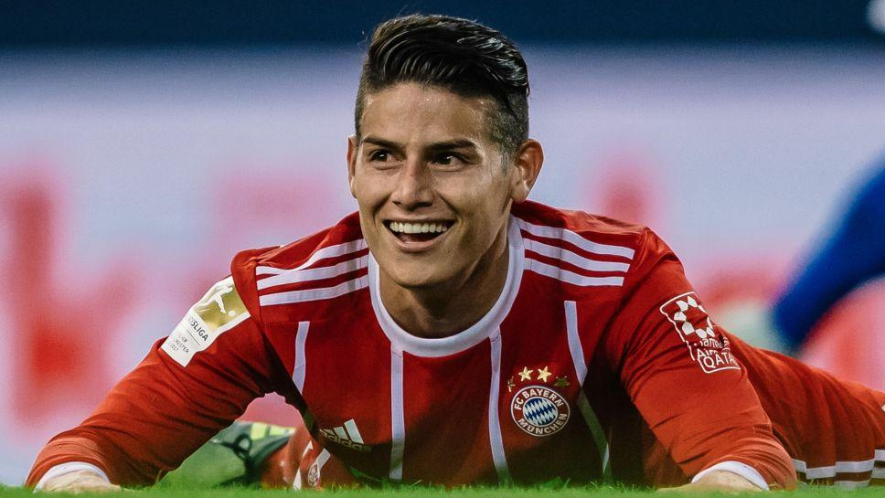 James Rodríguez HD Wallpapers Bundesliga