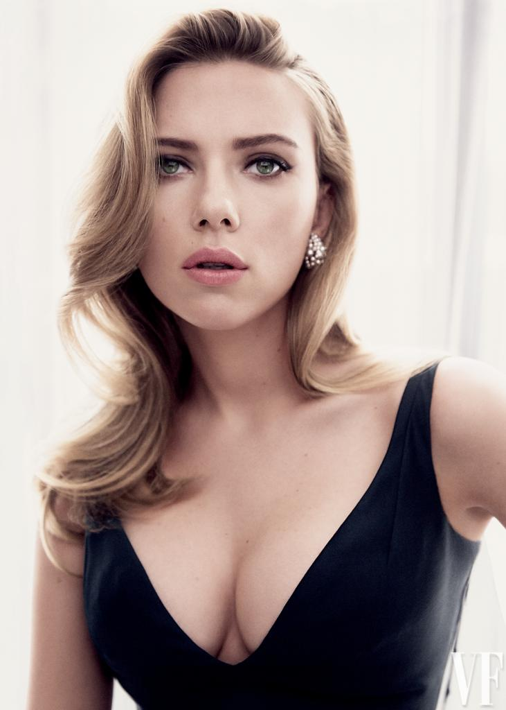 Scarlett Johansson HD Images Vanity Fair