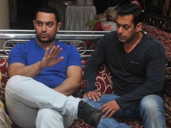 Aamir Khan Wants To Show Dangal To Salman Khan. - Filmibeat