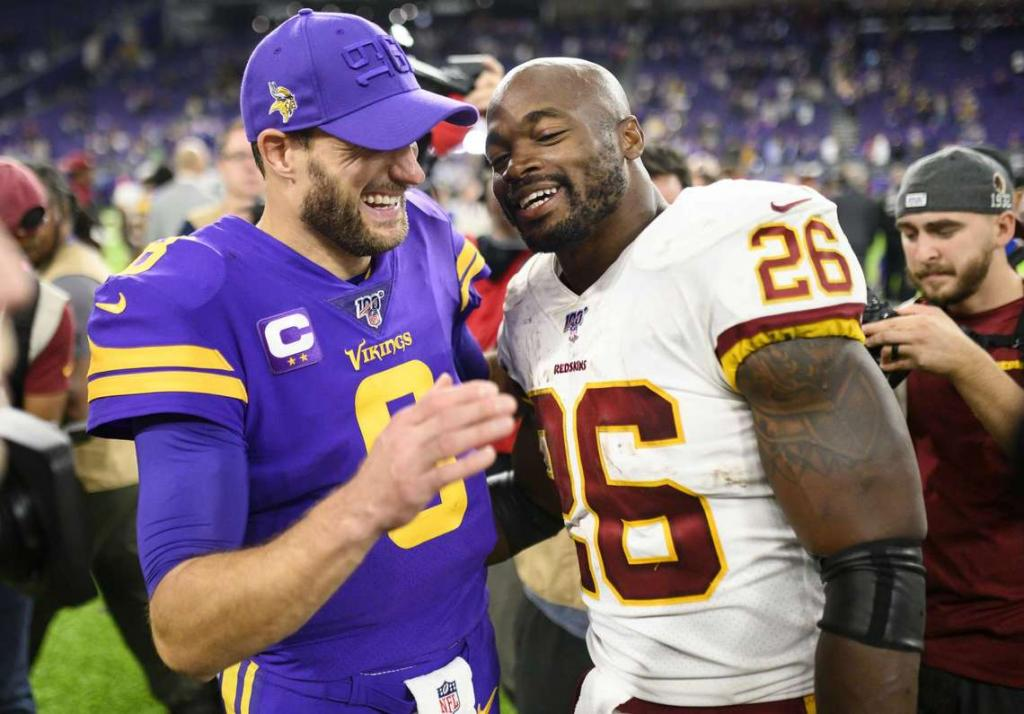 Adrian Peterson Laughably Believes Redskins Can Win Next 8