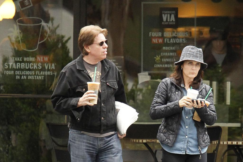 George Thorogood in George Thorogood Leaves Starbucks - Zimbio