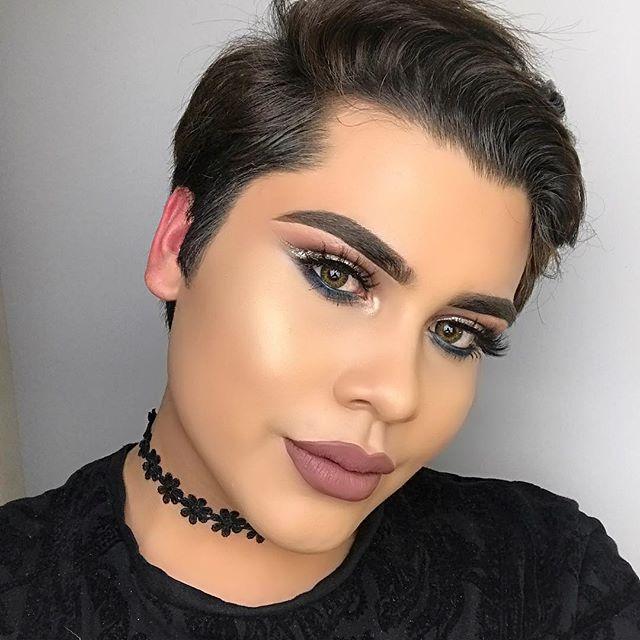 Alan Aka Alannized MUA makeupartist men makeup