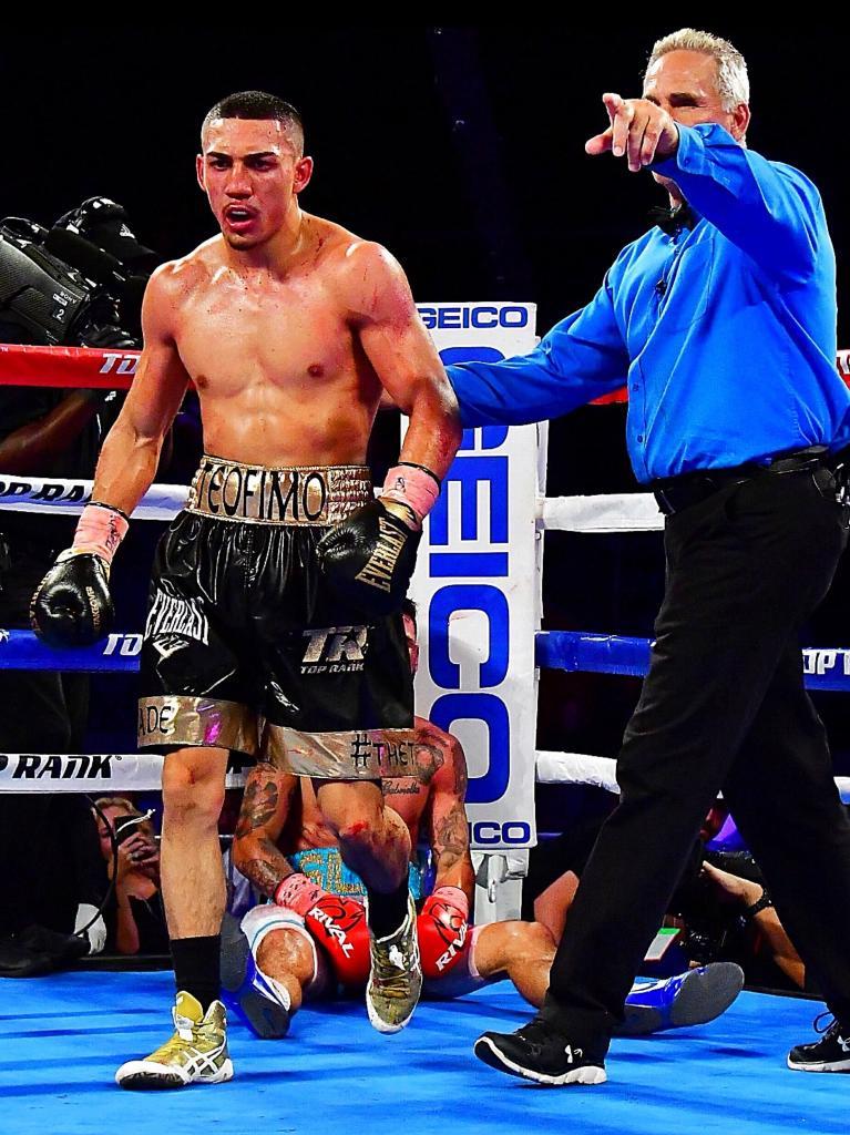 Teofimo Lopez Sets Sights On Lomachenko, Lightweight