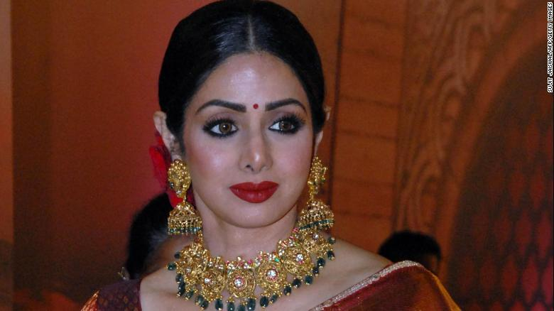Sridevi Beloved Bollywood Actress Dead At 54 CNN