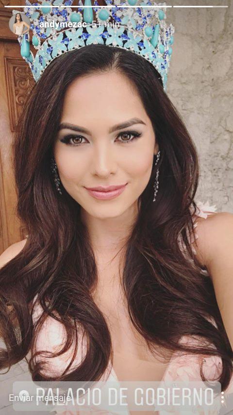 Fotos Y Capturas Recientes De Andrea Meza, Miss M  Xico 2017