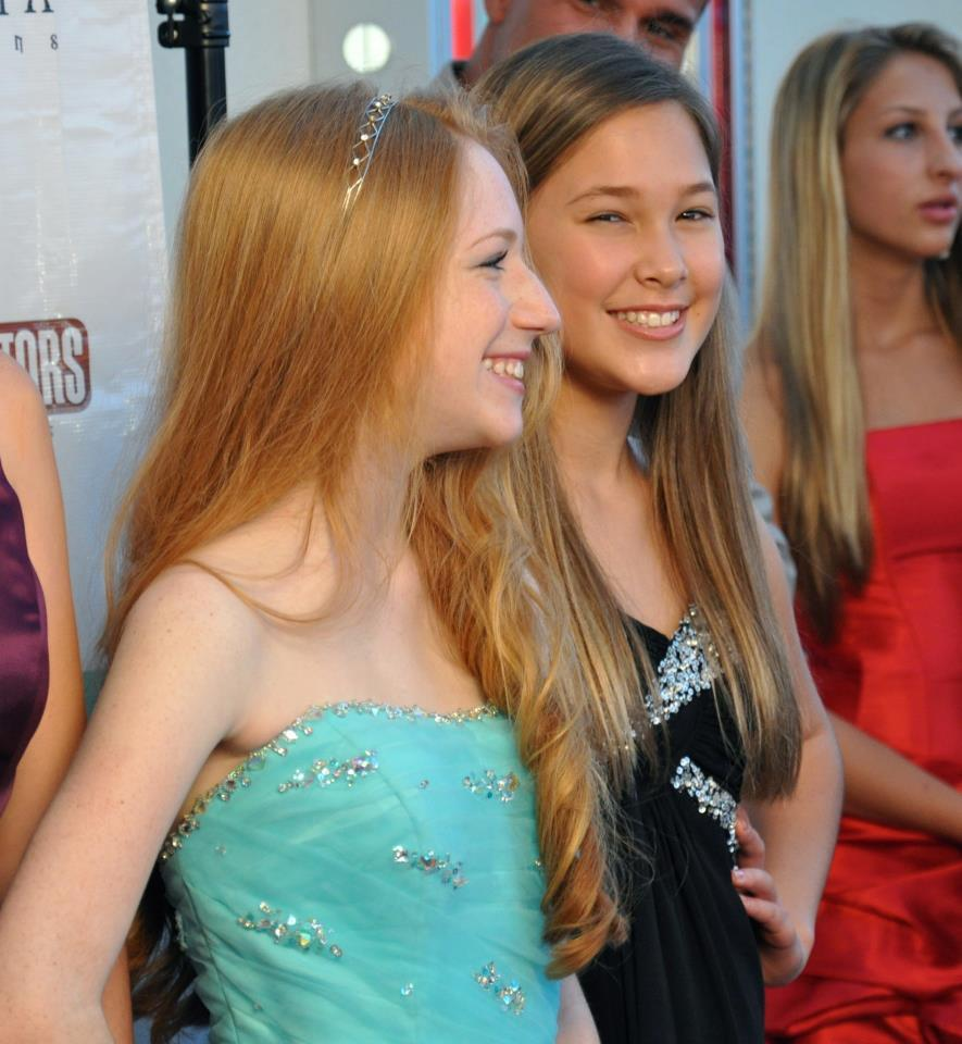 Red Carpet for Caught in the Middle-SAG Allie Lead of