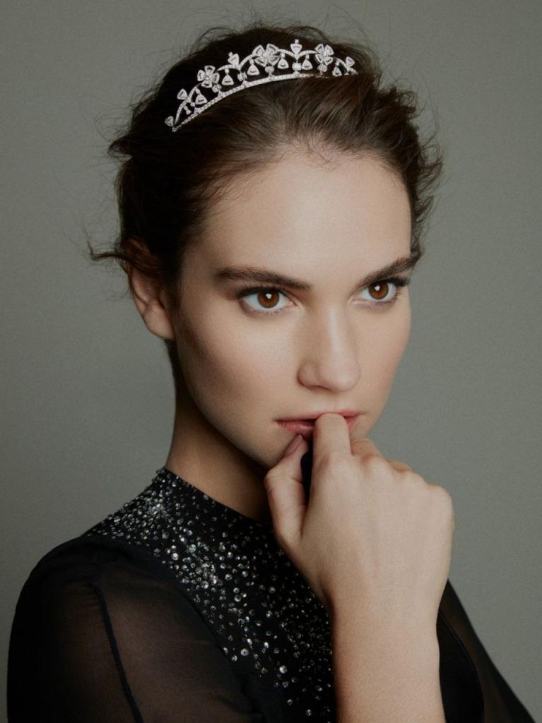 LILY JAMES in Madame Figaro Magazine, China February 2019