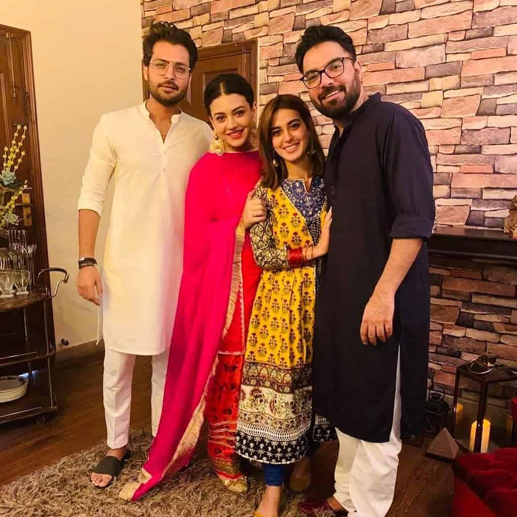 Yasir Hussain and Iqra Aziz's Cute Couple Pictures