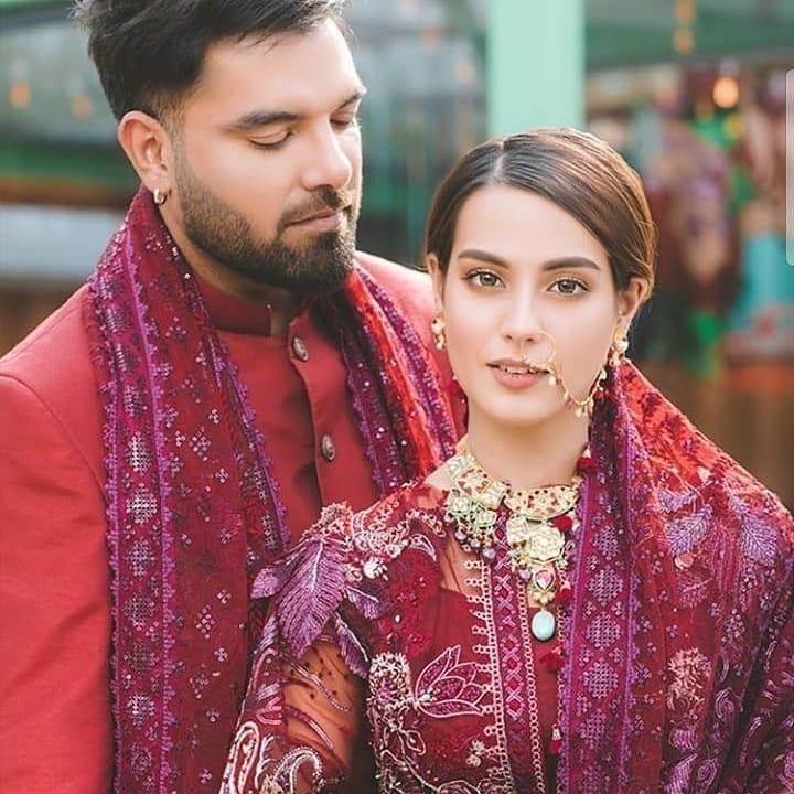 Latest Beautiful Photo Shoot of Iqra Aziz and Yasir