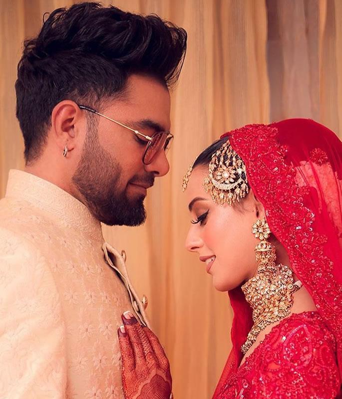 Iqra Aziz & Yasir Hussain get Married in Wonderful