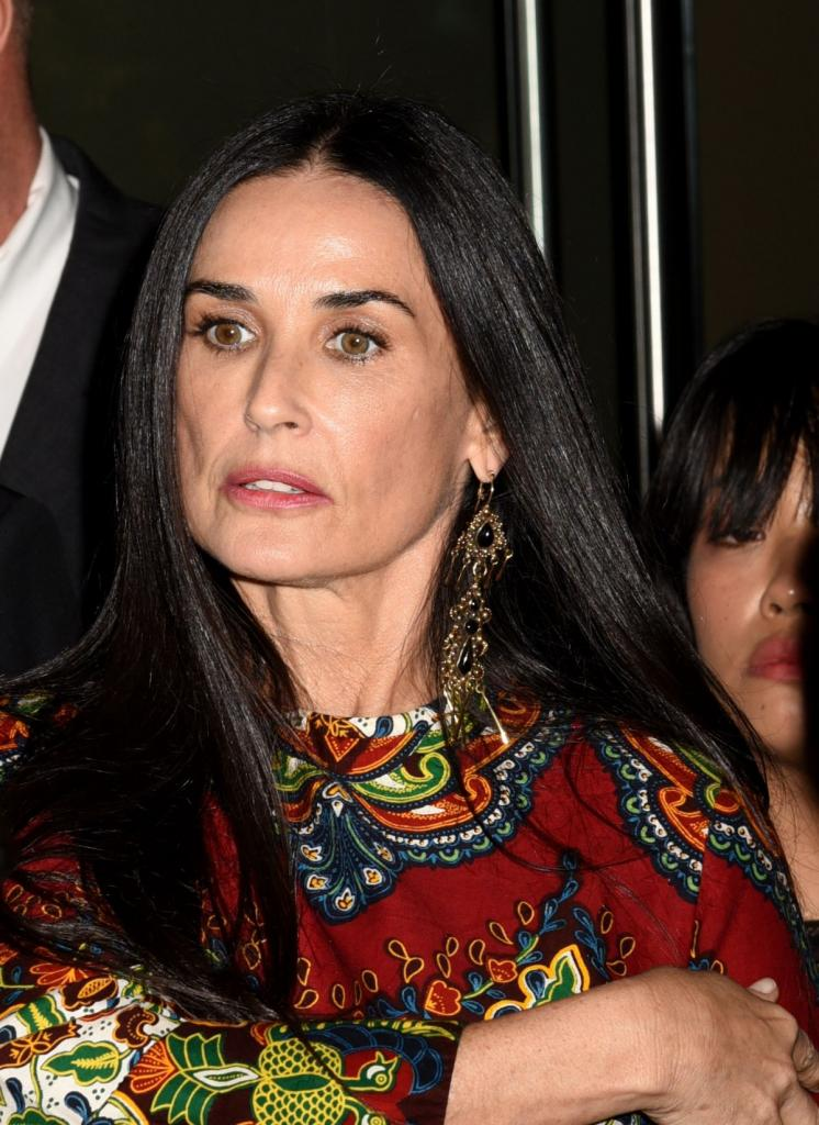 Demi Moore At Good Time film premiere in New York - Celebzz