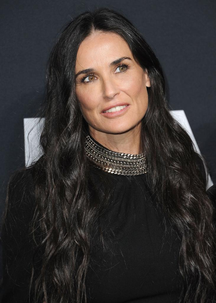 Demi Moore Opens Up About Spiraling Into Self-Destruction