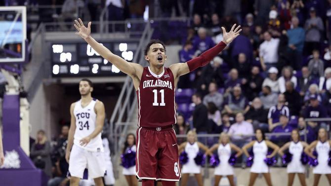 Trae Young Marvelous Again As Oklahoma Hands TCU Its First Loss Of