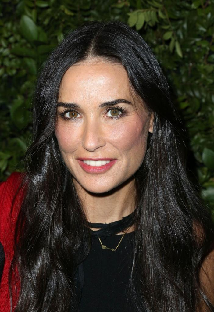 Demi Moore Ready To Rock That Body For Sony Comedy