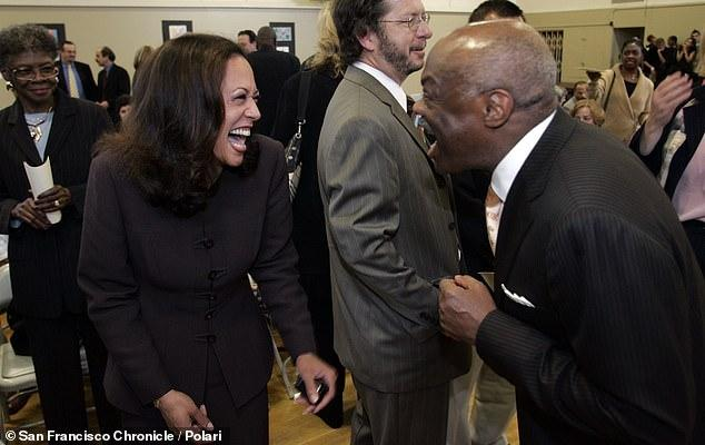 Kamala Harris had an affair with San Francisco's first