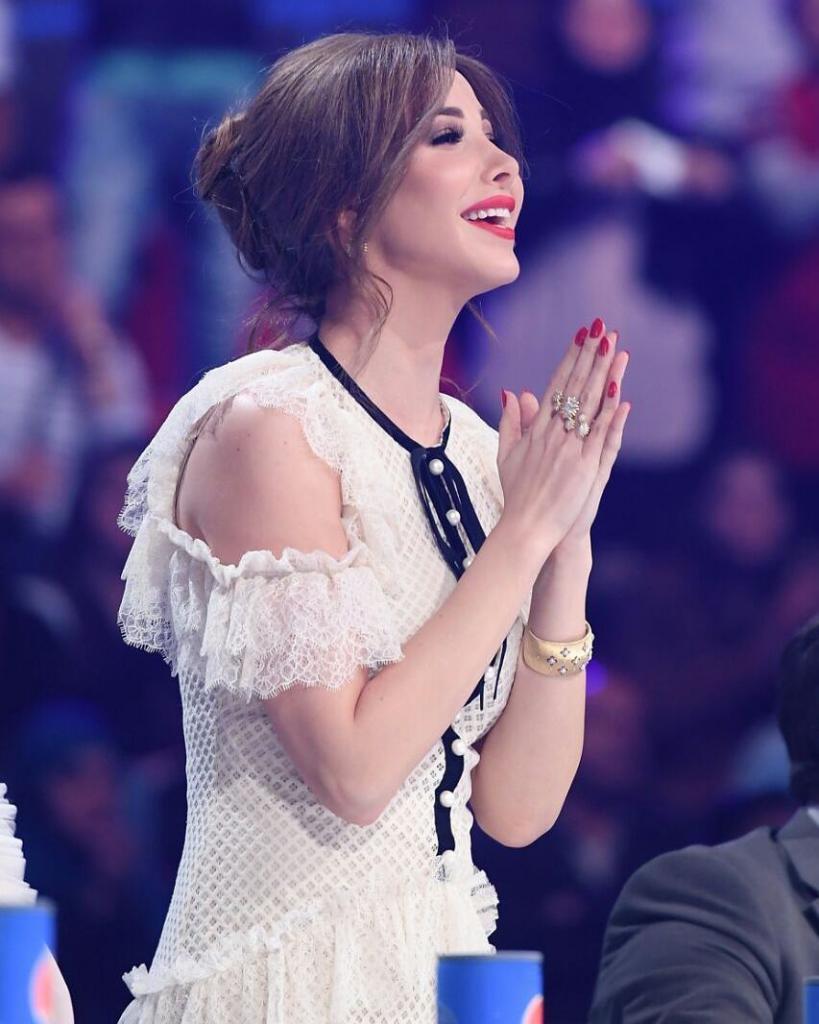 Nancy Ajram's Best Hair and Makeup Looks  Vogue Arabia