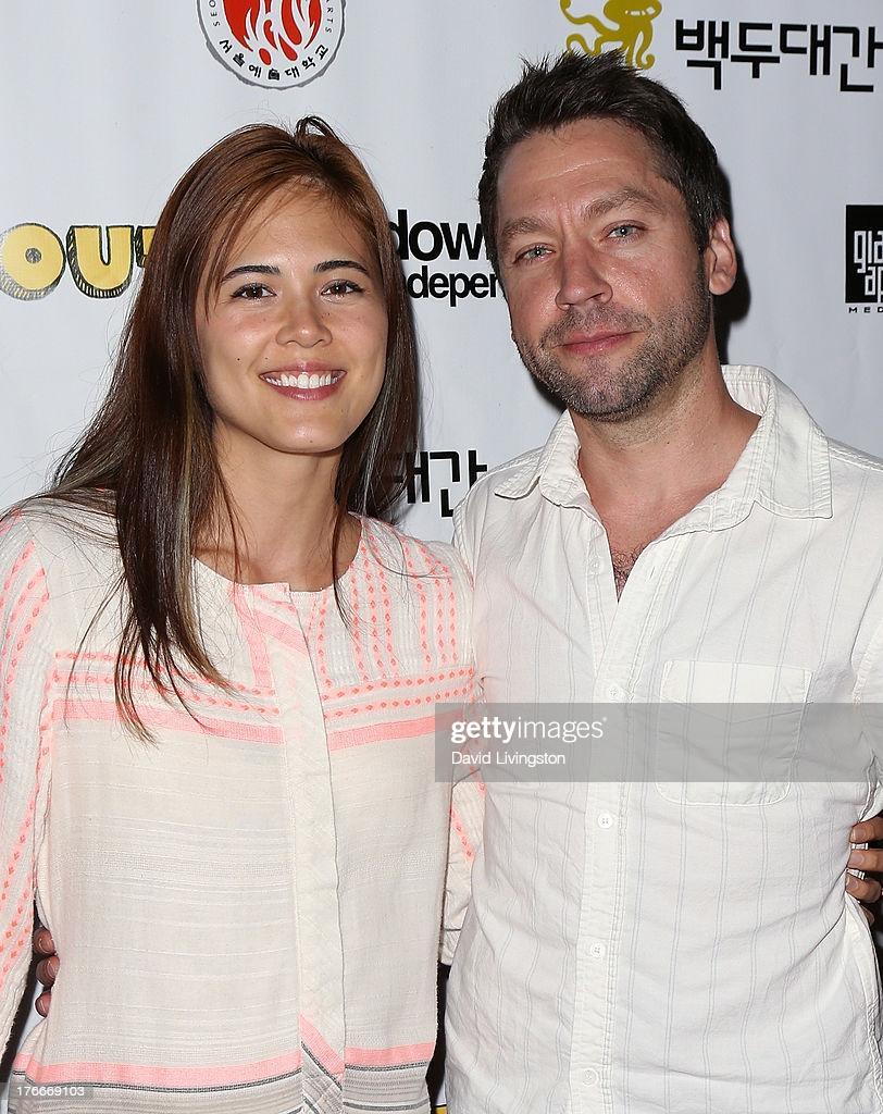 Singer Priscilla Ahn and husband actor Michael Weston