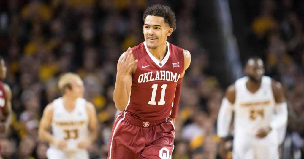 Trae Young Oklahoma Point Guard