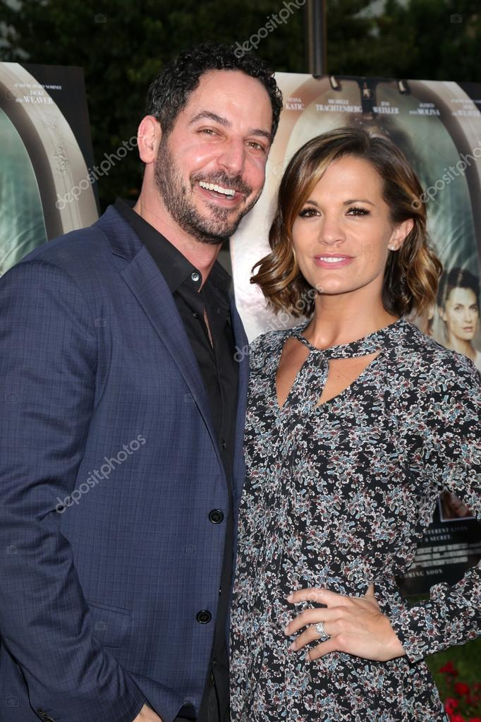 Matt Katrosar, Melissa Claire Egan  Stock Editorial Photo