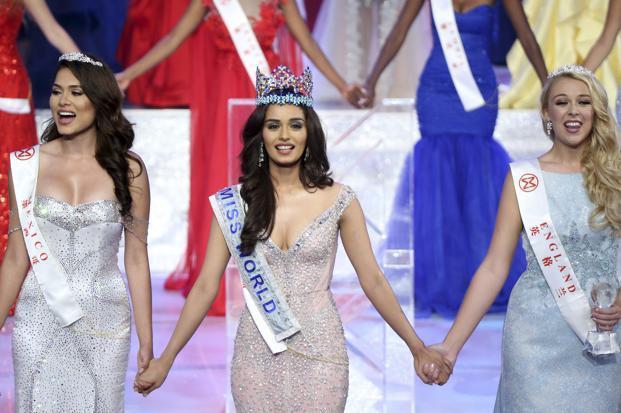 India's Manushi Chhillar Crowned Miss World 2017 - Livemint